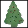Foam Tree : Christmas Tree Crafts Ideas for Children