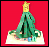 Christmas Tree Table Topper : Christmas Tree Crafts for Kids