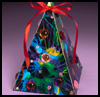 Multicolored Christmas Tree : Christmas Tree Crafts for Kids