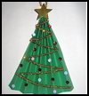 Christmas Tree Fan : Christmas Tree Crafts for Kids