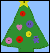 Felt & Button Christmas Tree : Christmas Tree Crafts Ideas for Children