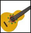 Foam    Mariachi Guitar  : Crafts Ideas for Cinco de Mayo for Kids