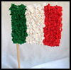 Colors    of Mexico Flag  : Crafts Ideas for Cinco de Mayo for Kids