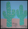 Cactus    Collage  : Crafts Ideas for Cinco de Mayo for Kids
