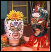 Lucha    Masks   : Crafts  for Cinco de Mayo to Celebrate Mexico