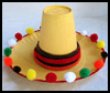 Mini    Sombrero    : Cinco de Mayo Crafts Activity for Children