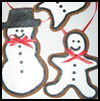 Ginger Bread Man Cinnamon Ornament Craft for Children