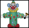 Circus   Clown Toilet Paper Roll Craft