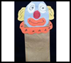<strong>Quite    the Clown Puppet   : Clown Crafts Activities for Children</strong>
