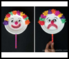 Mr. Happy and Mr. Sad Clown   : Clown Crafts Activities for Children