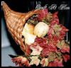 Fall   Leaves Cornucopia : Cornucopias Arts and Crafts