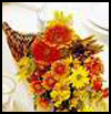 Floral   Cornucopia  : Cornucopias Arts and Crafts