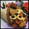 Handmade   Cornucopia Basket  : Cornucopias Arts and Crafts