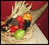Cornucopia   Centerpiece  : Cornucopia Crafts Ideas for Kids