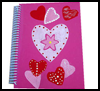 <strong>Love-ly Valentines Day Notebook  : Making Address Phone Number Book Activity for Children</strong>