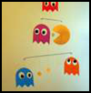 Pacman   Paper Mobile  : Tips and Ideas for Recycling Clothes Hangers
