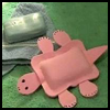 Foam   Turtle Soap Bath Toy  : Crafts with Bars of Soap