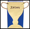 Golden   Trophy Goody Bags  : Crafts with Brown Paper Bags for Kids