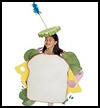 Ham   and Cheese Costume  : Ideas for Using Cellophane