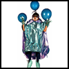 Alien   Costume  : Cellophane Crafts Ideas for Kids