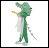 Fire-breathing   Dragon Costume    : Crafts with Cellophane Projects