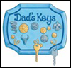 Dad's    Key Keeper   : Crafts with Coins for Kids