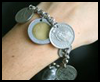 Coin    Charm Bracelet  : Crafts Ideas with Money / Coins for Kids