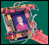 Crayon    Photo Frame Ornament   : Crafts with Craft Foam Sheets for Children