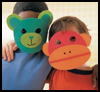 Foam   Masks    : Craft Foam Ideas
