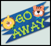 Go    Away Room Sign     : Craft Foam Activities
