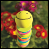 Foam    Caterpillar    : Craft Foam Ideas
