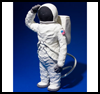 Astronaut    on a Space Walk  : Crafts with Craft Foam for Kids