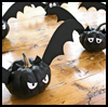 Bat-o'-Lanterns  : Crafts with Craft Foam for Kids