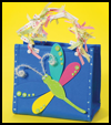 Dragonfly    Bag   : Crafts with Craft Foam Sheets for Children