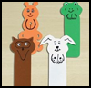 Animal    Buddies Bookmark  : Crafts with Craft Foam for Kids