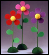 Fun    n Funky Flowers     : Craft Foam Activities