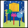 Puppet    Theater & Fun Stick Puppets