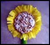 Sunflower   Craft   : Crepe Paper Crafts Activities for Children