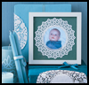 Doily Frame : Doily Crafts Ideas for Kids