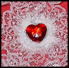 Lacy   Heart  : Crafts with Lace for Children