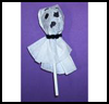Lollipop Ghosts : Crafts With Lollipops Instructions for Children