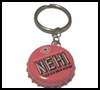 Bottle Cap Key Chain : Crafts with Metal Activities for Children