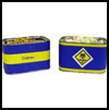 Nut and candy tins