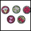 Bottle Cap Valentine Pins : Crafts with Metal Activities for Children