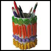 Colorful Macaroni Can : Crafts with Metal Cans for Children