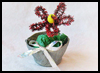 Recycled Tin Can Flower Pots