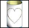 Clip   Art Candleholder   : Crafts with Metal Cans for Children