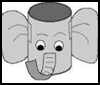 Elephant Pencil Holder : Crafts with Metal Cans for Kids