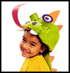 Dragon Hat Kids Craft Project Instructions