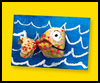 Baggy Fish Creatures Craft Puffy Fish Craft for Kids